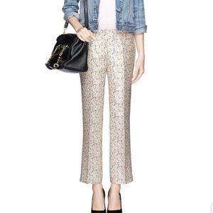 Tory Burch Size 2 Frances Pant 100% Silk